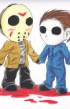 jason voorhees and michael myers by emogal98