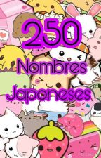 250 Nombres Japoneses :3 by BelsMars