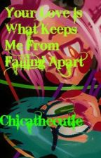 Mangle x Toy Bonnie: your love is what keeps me from falling apart by Chicathecutie