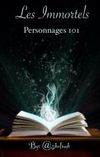 Les Immortels, personnages 101 by shelouh
