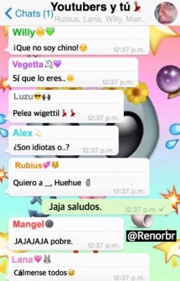 Whatsapp «Youtubers y tú»