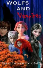 Wolfs And Vampires-The Big Four by directioner1d1d345