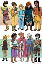 Genderbent  Disney by EvergreenArcher