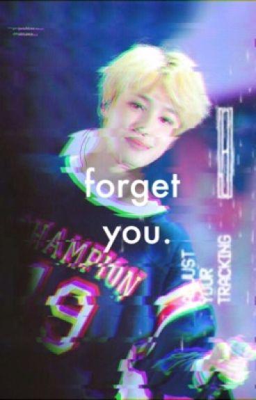 forget you; jikook