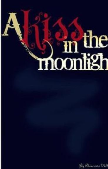 A kiss in the moon-light