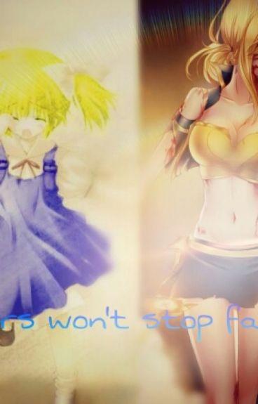 Tears won't stop falling