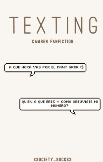 Texting | Camren Fanfiction |
