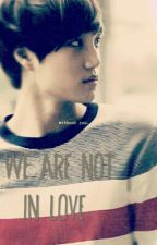 We Are Not In Love [Kai Exo Fanfiction] by putrifilmi