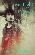 The 100. Live. Fight. Protect. by Red_Fury04