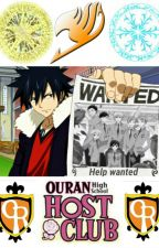 Fairy Tail Highschool Host Club by dragneel4life