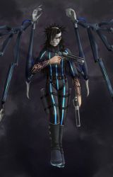Macabre Angel ~ Nero The Sable by IveGoneCompletelyMad