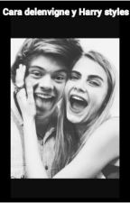 Cara delenvigne y Harry Styles by carlabs2