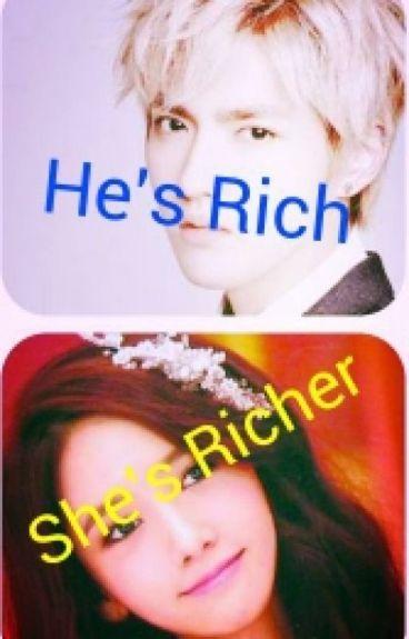 He's Rich;She's Richer