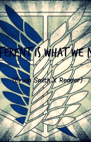 Different Is What We Need (Erwin Smith x Reader)