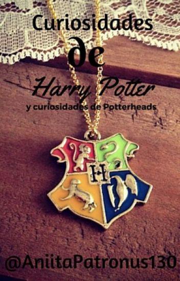 Curiosidades de Harry Potter y cosas de Potterheads