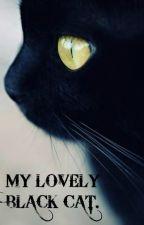 My lovely black cat.Mi adorable gato negro. by DopaminaK3