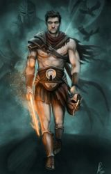 Percy jackson and the son of chaos by Zackthegrimreader