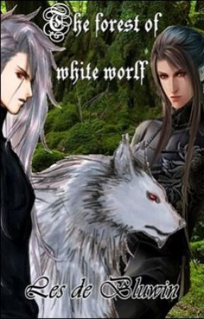 The forest of white wolf by Les_de_Bluwin