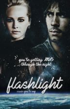 flashlight ➶ the 100 by aniielka