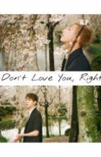 I Don't Love You, Rigth? (NamJin- TwoShot) by maiichxn