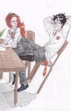 Lily i James, historia jak na pergaminie pisana. by allyefe
