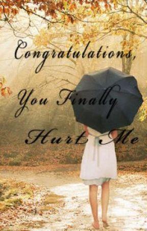 Congratulations You Finally Hurt Me Chapter 3 My Ex Boyfriend
