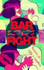 Bar Fight [Human Rubapphire AU] by royalrosequartz