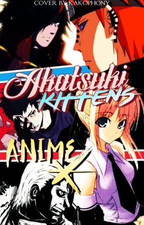 Akatsuki Kittens by Anime-Skittles