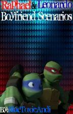 TMNT Raphael & Leonardo Boyfriend Scenarios by BlueToxicAndi