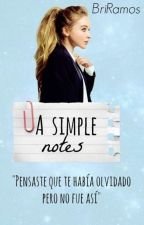 A Simple Notes [1] by Bri-The-Fangirl