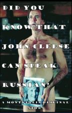 Did You Know That John Cleese can Speak Russian? by MontyPalin