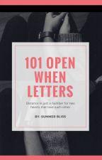 101 Open When Letters by Mayleyamy