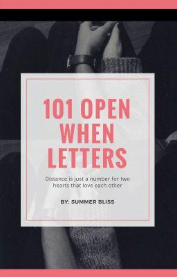 101 Open When Letters Secretttt Wattpad