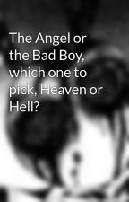 The Angel or the Bad Boy, which one to pick, Heaven or Hell? by DaisanDaDork