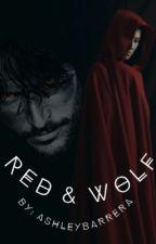 Red & Wolf by AshleyBarrera