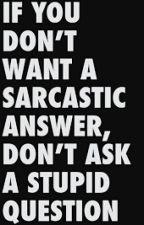 Frases: Sarcasmo e Ironía. by xxRipxx