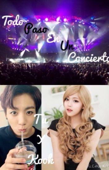 Todo paso en un concierto...(tu y kook)(jungkook y tu)