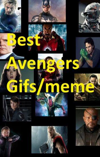Best Avengers Gifs/memes