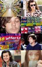 Sanitary Towels | OS LARRY AU by TommoBeMinePls