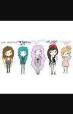 types of girls by Emojigirl75
