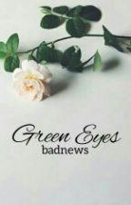green eyes by -clarawrites