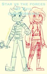 Star vs the forces of evil (  Starco Genderbend  ) by _Sapphire_Music_
