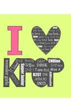 K-Pop Groups by BlueSpringRide