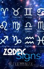 Zodiac Signs by AlexHemmingsx