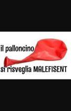 Il palloncino si risveglia Malefisent by GiulianaPonzio