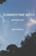 summertime boys // gabilliam by pixieboy