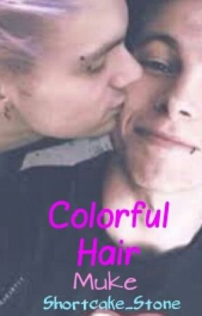 colorful hair //Muke// by pastelnxthing