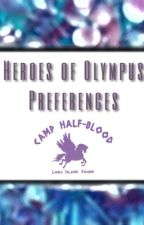 Heroes of Olympus Oneshots and Preferences by 50shadesofjessy