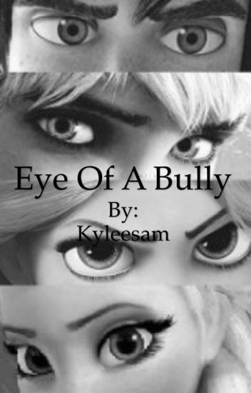 Eye of a bully (masked)