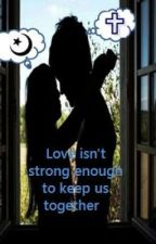 Love isn't strong enough to keep us together by carrorune